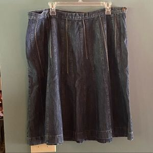 C.J. Banks Denim Skirt